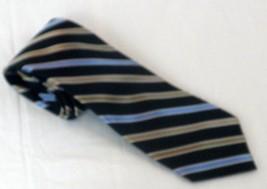 Ralph Lauren Chaps Striped Hand Made 100% Silk Neck Tie - $9.99