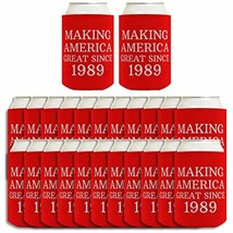 Birthday Gifts for 30th Birthday Making America Great Since 1989 24-pack... - £48.26 GBP