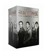 Battlestar Galatica The Complete Series Season 1-4 DVD (26-Disc) 1 2 3 4  - $59.95