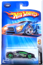 Hot Wheels - Zotic: Autonomicals #2/5 - Collector #159 (2004) *Black Edi... - $2.50
