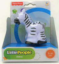 Fisher-Price Little People Zebra Tier Zoo Wildleben Safari Abbildung Spi... - $12.22