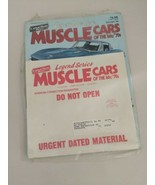 Cars & Parts Magazine Legend Series Muscle Cars Of The '60s '70s Novembe... - $9.89