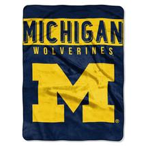 Michigan Wolverines Blanket 60x80 Raschel Basic Design [Free Shipping]**Free Shi - $45.00
