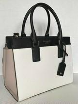 New Kate Spade New York Cameron Medium Satchel Leather White / Warm Beig... - $171.40 CAD