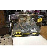 """Batman Batcycle Vehicle with Exclusive Batman and Clayface 4"""" Action Fig... - $10.54"""