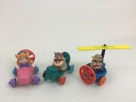 Chip n' Dale Rescue Rangers Lot Toy 3pc Vintage 90s Vehicles Cars Disney A2 - $14.80