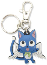 Fairy Tail Happy Pvc Key Chain Ge5095 *New* - $7.99
