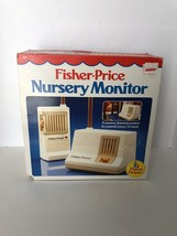 Fisher Price Nursery Baby Monitor In Original Box 157 Vintage 1983 Tested - $16.82