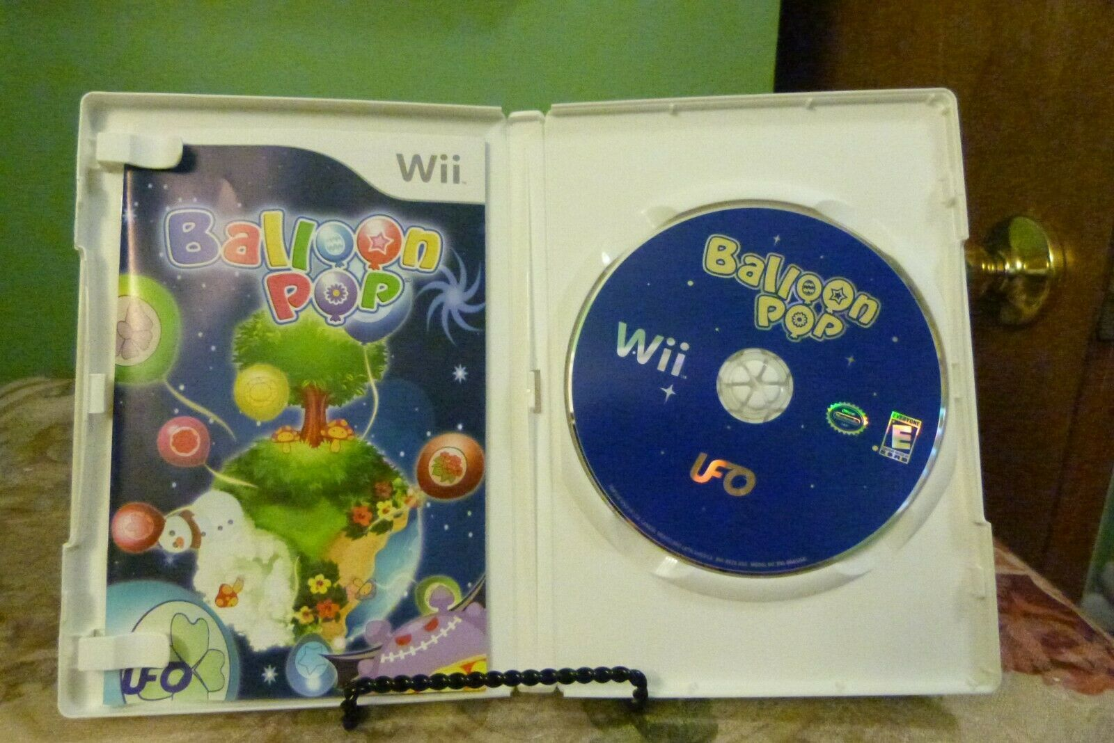 Balloon Pop (Nintendo Wii, 2008) Complete w/ Manual - VG+