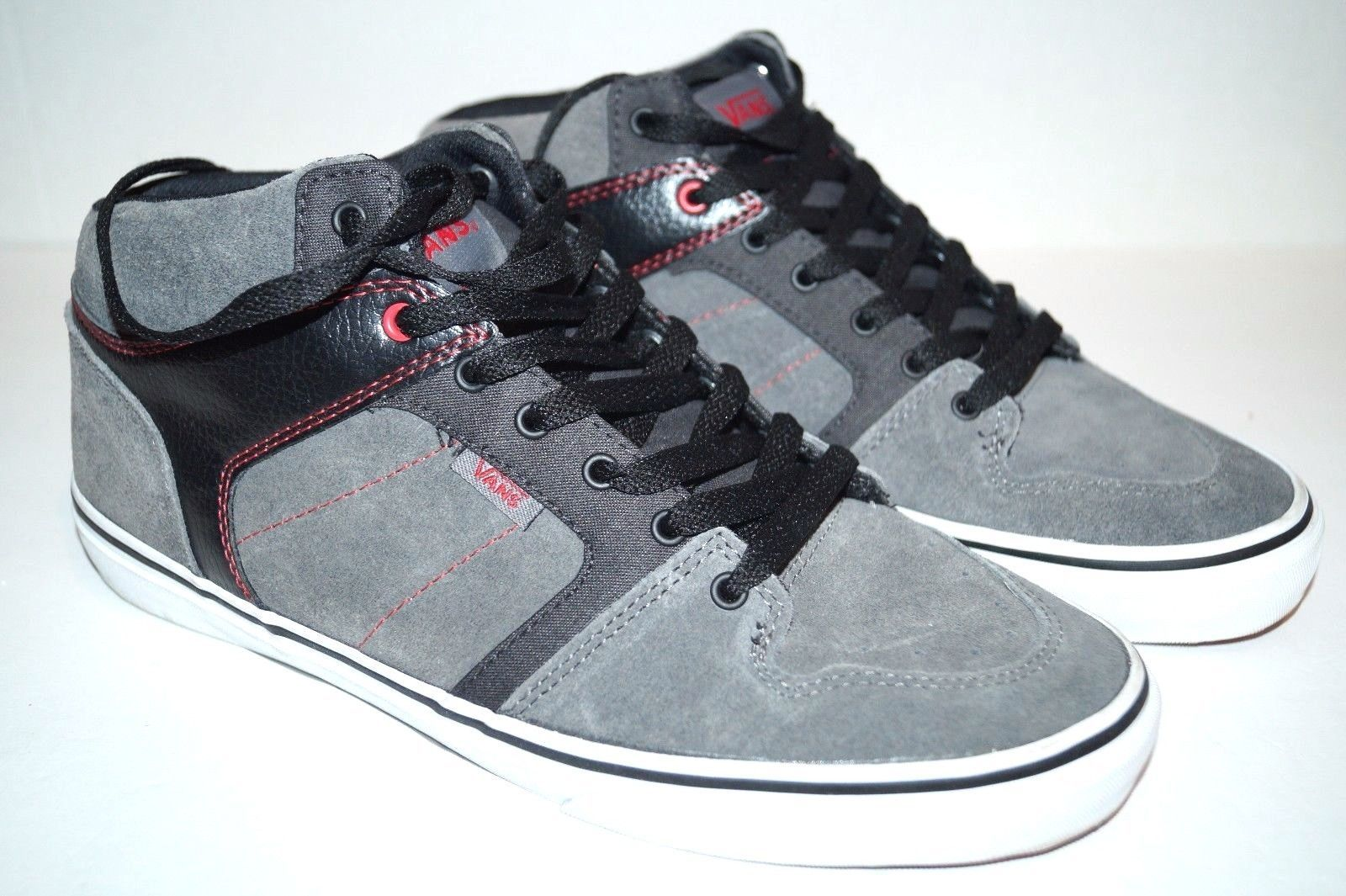 615710e480263a VANS Vulcanized Mid Top Shoes Mens Suede and 50 similar items. S l1600
