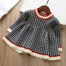 Girls Dress Plaid Autumn Winter Children Toddler Baby Clothes Kids Princ... - $22.76+