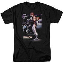 RoboCop Retro 80's action movie Peter Weller Cyborg graphic t-shirt MGM105 image 1