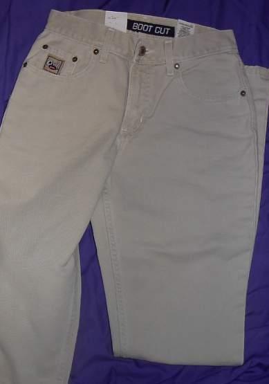 New! Beige Cruel Girl Jeans Horse Show Clothes 5 Long