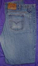 Worn Levi Strauss Jeans Horse Show Clothes W 34 L 34  - $38.00