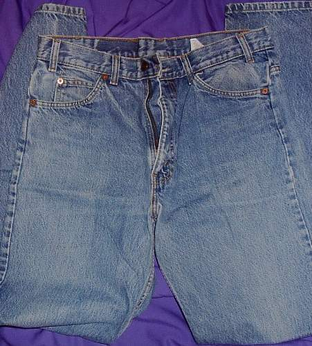 Worn Levi Strauss Jeans Horse Show Clothes W 34 L 34