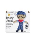 Kamibashi Casey Jones The Original String Doll Gang Keychain Clip - $10.99