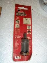 "Bnip Vermont American Plug Cutter 1/2"" 16593 Usa Made Dowling Drill Bit - $6.35"