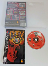 Mortal Kombat 3 complete good shape tested PS1 (Sony PlayStation 1, 1995) - $64.95