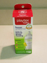 Playtex Baby Bottle 4oz Nurser With Drop-Ins Liners w/Natural Latch Nipple (NEW) - $4.95