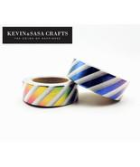 KEVIN&SASA® Washi Tape Colors Foil Stationery Decorative Scrapbooking - $2.79