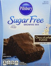 Pillsbury Sugar Free Mix-Chocolate Fudge Brownie-12.35 Oz-1 Pack SEPT 2019 - $10.39