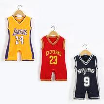 Baby boy romper basketball jumpsuit clothes - $14.77+