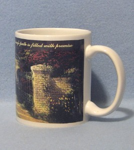 Thomas Kinkade Spring Gate Mug 1997
