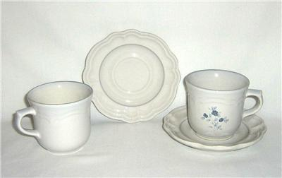 Pfaltzgraff Poetry Glossy 2 Cup and Saucer Sets