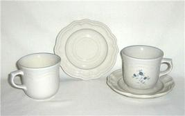 Pfaltzgraff Poetry Glossy 2 Cup and Saucer Sets - $6.99