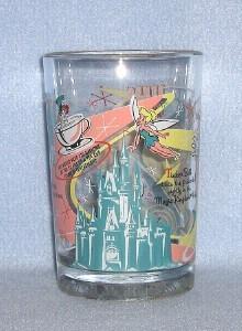 "Walt Disney World ""100 Years of Magic"" Glass Tumbler"