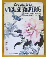 Easy Ways to do Chinese Painting Instruction Booklet #69 1988 - $8.99