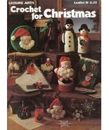 Crochet for Christmas Leisure Arts No. 81 Booklet - $4.99