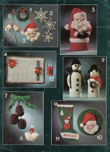 Crochet for Christmas Leisure Arts No. 81 Booklet