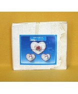 House of Lloyd Heart to Heart Wall Set 29-600 Wood Plaques Candle Holders - $4.99