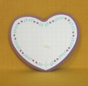 House of Lloyd Heart to Heart Wall Set 29-600 Wood Plaques Candle Holders