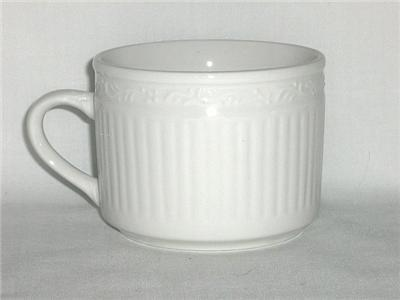 Totally Today Mezzo Notte 4 Cups and Saucers