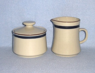 Newcor Eclipse 603 Creamer and Sugar Bowl with Lid