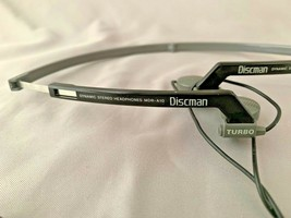 Sony MDR-A10 Discman Turbo Folding Headphones Works - $24.75