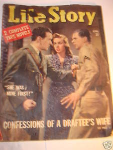 Life Story Magazine April 1942 - 22 confession stories!