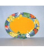 Vista Alegre Portugal Market Place Oval Platter - $22.99