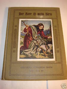 Der Herr Ist Mein Hirte German language child's book