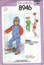 Simplicity Pattern 8946 Child's Tops Pants Shorts and Jacket Sizes 3, 4,... - $6.99