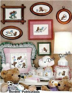 It's a Baby Cross Stitch Booklet Bears Toys Dale Burdett