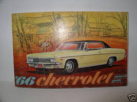 1966 Chevrolet Owners Guide - $9.95