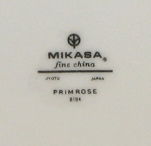 Mikasa Primrose 8194 8 Bread and Butter Plates Dessert