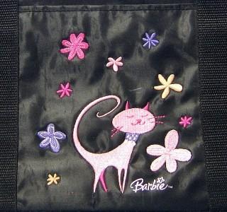 Hallmark Barbie Large Tote Overnight Bag Embroidered
