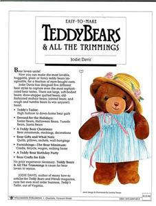 Teddy Bears and All the Trimmings by: Jodie Davis