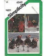 "Simplicity Pattern 6569 Felt Bears 2 Szs: 5 1/2"" and 9 1/2"" Uncut - $6.99"