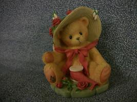 "1997 Cherished Teddies JANET ""You're Sweet As A Rose"" 7II4/202 Enesco 3 ... - $5.45"