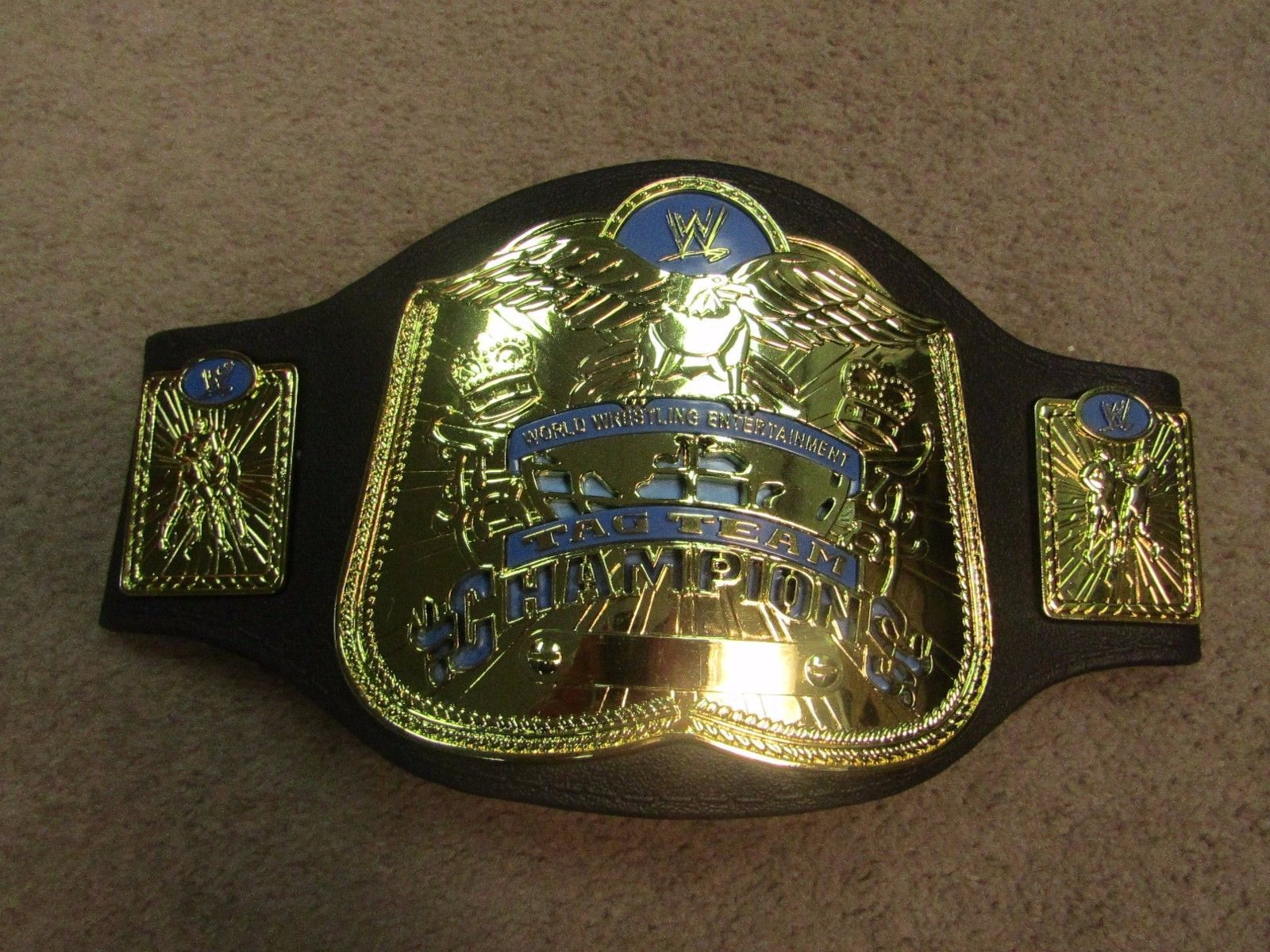WWE WWF HBK Shawn Michaels Signed Mattel Belt autograph w// Video Proof JSA COA